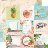 4x4 Elements 12x12 Paper-Simple Stories Simple Vintage Coastal