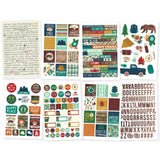 Cabin Fever 4x6 Stickers-Simple Stories
