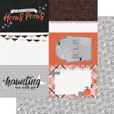 4x6 Elements 12x12 Paper-Simple Stories Happy Haunting