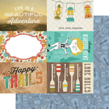 4x6 Elements 12x12 Paper-Simple Stories Happy Trails