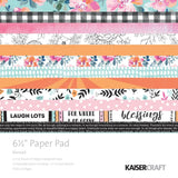 Blessed 6.5 x 6.5 Paper Pad-Kaisercraft