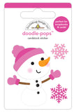 Crystal Doodle-Pops Stickers-Winter Wonderland-Doodlebug