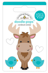 Bruce Doodle-Pops Stickers-Winter Wonderland-Doodlebug