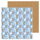 Snow Cozy 12x12 Paper-Doodlebug Winter Wonderland