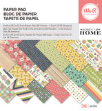 Honey I'm Home 6x6 Paper Pad-We R Memory Keepers