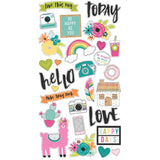 6x12 Chipboard Stickers-Simple Stories Oh Happy Day