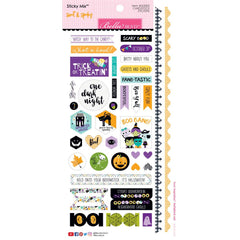6x12 Cardstock Stickers-Sweet & Spooky Bella Blvd