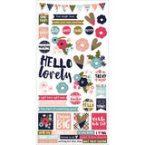 Hello Lovely 6x12 Stickers-Simple Stories