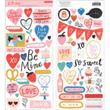 6x12 Cardstock Stickers-LaLaLove-Crate Paper