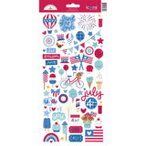 6x12 Icons Stickers-Doodlebug Land That I Love