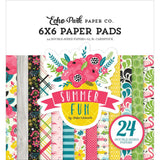 Summer Fun 6x6 Paper Pad-Echo Park