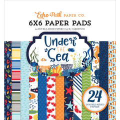 Under The Sea 6x6 Paper Pad-Echo Park