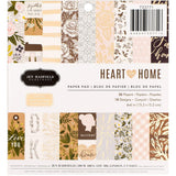 Heart of Home 6x6 Paper Pad-Jen Hadfield
