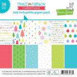 Really Rainbow Christmas 6x6 Petite Paper Pack-Lawn Fawn