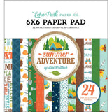 Summer Adventure 6x6 Paper Pad-Echo Park