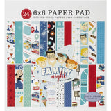 Family Night 6x6 Paper Pad-Carta Bella