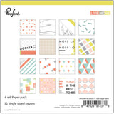 Live More 6x6 Paper Pad-Pinkfresh Studio
