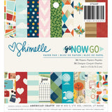 Go Now Go 6x6 Paper Pad-Shimelle
