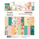 Simple Vintage Garden District 6x8 Paper Pad-Simple Stories