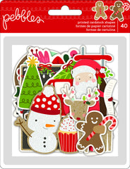 Merry Merry Ephemera Die Cuts-Pebbles