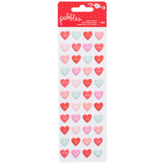 Mini Puffy Conversation Hearts Stickers Forever My Always-Pebbles