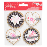 Rosettes Stickers Forever My Always-Pebbles