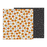 Pumpkin Patch 12x12 Paper-Pebbles Midnight Haunting