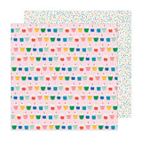 Hey Cupcake 12x12 Paper-Pebbles Happy Cake Day