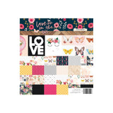Love Is In The Air 8x8 Paper Pad-Webster's Pages