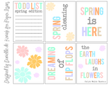 Spring Is Here Free Printable File