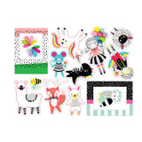 Merry Go Round Die Cuts-Pretty Little Studio Color Me Happy