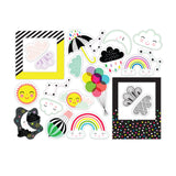 Over The Rainbow Die Cuts-Pretty Little Studio Color Me Happy