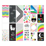 Be Cool Pocket Journaling Cards-Pretty Little Studio Color Me Happy