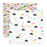 Rainbow Parade 12x12 Paper-Pretty Little Studio Color Me Happy