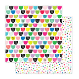 Sweet Drops 12x12 Paper-Pretty Little Studio Color Me Happy