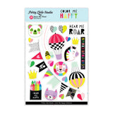 Hear Me Roar Stickers-Pretty Little Studio Color Me Happy