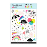 Lucky Stars Stickers-Pretty Little Studio Color Me Happy