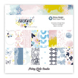 Shine Bright 8x8 Paper Pad-Shine Bright-Pretty Little Studio