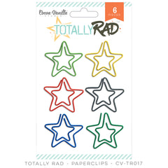 Totally Rad Paper Clips-Cocoa Vanilla
