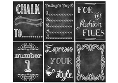 Chalk It Up Free Printable File
