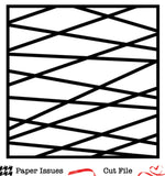 Criss Cross Background Free Cut File