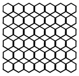 Hexagon Background Free Cut File