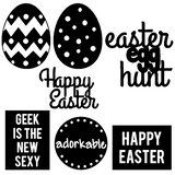 Happy Easter March Free Cut File
