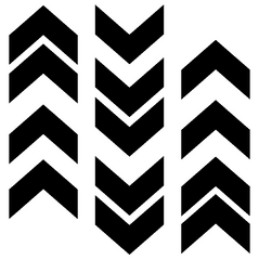 Chevron Banner Free Cut File