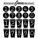 January Java Journal Free Cut File