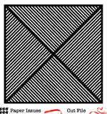 Diagonal Stripes-Free Cut File