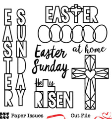 Easter Sunday-Free Cut File