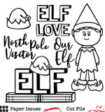 Elf Love-Free Cut File