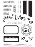 Live Laugh Love Stamp Set-Elle's Studio