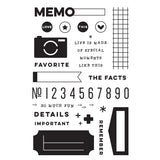 Noteworthy Stamp Set-Elle's Studio